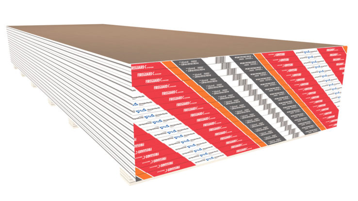 Fire-Rated Type C Gypsum Board ToughRock FireGuard C