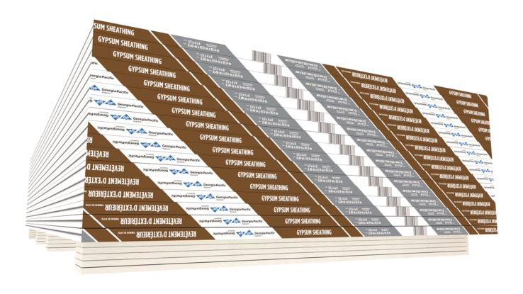ToughRock Gypsum Sheathing Panels