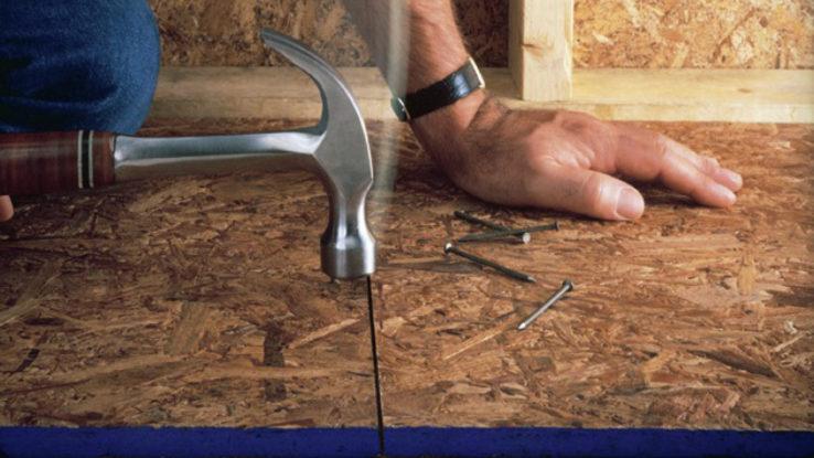Georgia-Pacific Blue Ribbon Sturd-I-Floor Subfloor OSB Plywood Panels