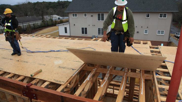 Georgia-Pacific DryMax Moisture & Water-Resistant OSB Subfloor Plywood