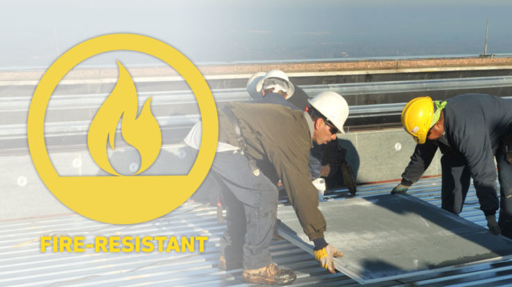 DensDeck Roof Boards Fire-Resistant Panels