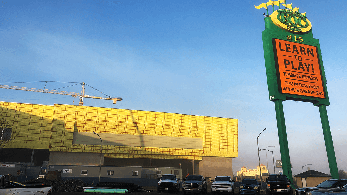 Choosing to panelize the Emerald Queen Casino project with DensElement® Barrier System ensured faster, safer, and easier assembly in a controlled offsite warehouse environment rather than in the stormy climate of the Pacific Northwest.